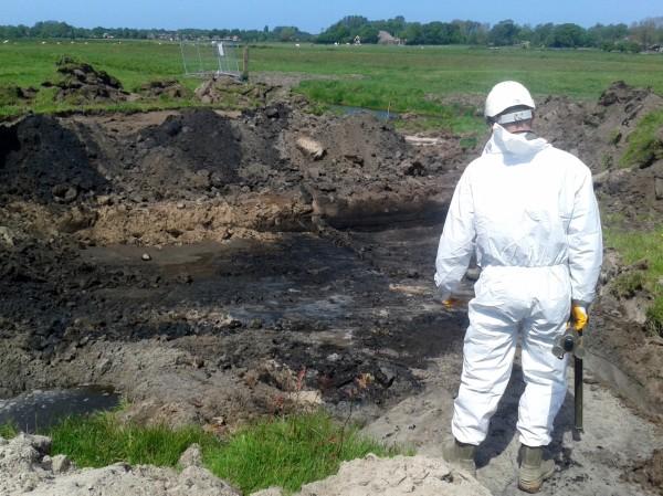 MKB en NGE opgraving (niet gesprongen explosieven) Saenegheest